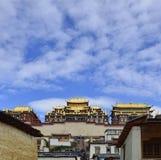 Monastère tibétain de Gedan Songzanlin, Shangri-La Photographie stock libre de droits