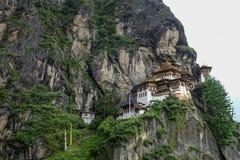 Monastère Tiger Nest de Taktsang au Bhutan photographie stock libre de droits