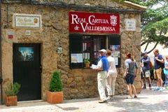 Monastère vrai Cartuja dans Valldemossa, Majorca Image stock