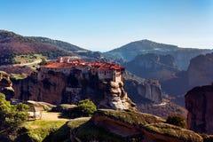 Monastères de Meteora Photo libre de droits