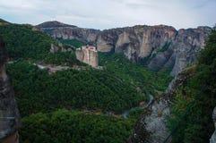 Monastères 2 de Meteora Photographie stock libre de droits