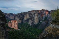 Monastères 3 de Meteora Image stock