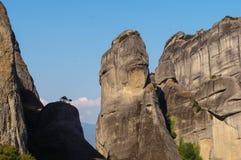 Monastères 4 de Meteora Images libres de droits