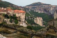 Monastères 6 de Meteora Photographie stock libre de droits