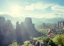 Monastères de Meteora Image stock