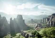 Monastères de Meteora Photographie stock