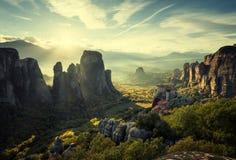 Monastères de Meteora Image libre de droits
