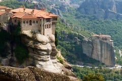 Monastères de Meteora Clifftop Image libre de droits
