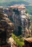 Monastères de Meteora Clifftop Photo libre de droits