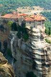 Monastères de Meteora Clifftop Photo stock