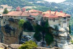 Monastères de Meteora Clifftop Photographie stock libre de droits