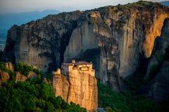 Monastères de Meteora en Grèce Image libre de droits