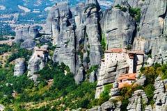 Monastères de Meteora, Grèce Image stock
