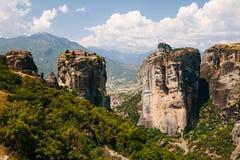 Monastères de Meteora, Grèce Photo stock