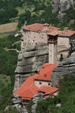 Monastères de Meteora Grèce Photos libres de droits