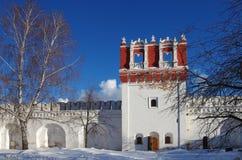 Monastères grands de la Russie Couvent de Novodevichy Images stock