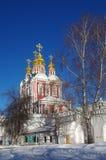 Monastères grands de la Russie Couvent de Novodevichy Image stock