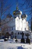 Monastères grands de la Russie Couvent de Novodevichy Image libre de droits