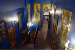 Monastério abobadado dourado de StMichael's em Kyiv, Ucrânia Fotografia de Stock