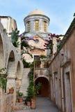 Monastério Agia Triada, Creta Fotografia de Stock