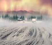Monastério alpino solitário Foto de Stock