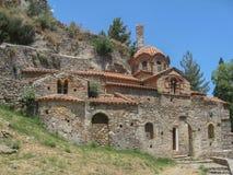 Monastério bizantino Mystras de Peribletos Foto de Stock
