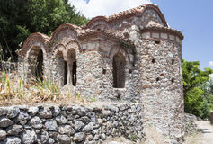 Monastério bizantino Mystras de Peribletos Fotografia de Stock Royalty Free