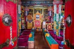 Monastério budista fotografia de stock