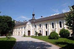 Monastério cartuxo em Pleterje, Eslovênia foto de stock