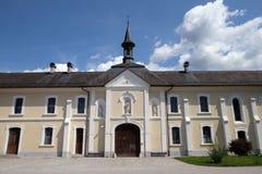 Monastério cartuxo em Pleterje, Eslovênia Fotografia de Stock