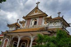 Monastério católico, Thien um monastério foto de stock royalty free