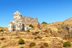 Monastério cristão Amberd Imagens de Stock Royalty Free