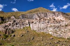 Monastério da caverna de Vardzia foto de stock royalty free