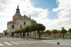 Monastério da concepção imaculada, Loeches, Madri, Espanha imagem de stock