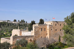 Monastério da cruz. Jerusalem. Foto de Stock Royalty Free
