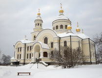 Monastério da fêmea de Novo-Tikhvin. Fotos de Stock Royalty Free
