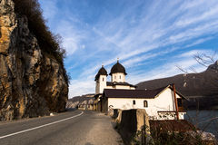 Monastério da igreja MRACONIA Imagens de Stock Royalty Free