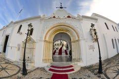 Monastério da ilha de Tinos fotos de stock