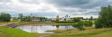 Monastério da suposição de Tikhvin fotos de stock