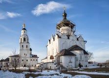Monastério da suposição, Sviyazhsk fotografia de stock