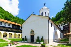 Monastério da trindade santamente, Pljevlja foto de stock