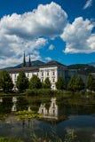 Monastério de Áustria Admont Fotografia de Stock