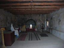 Monastério de Agios Ioannis Prodromos em Necromanteion do Acheron fotos de stock royalty free