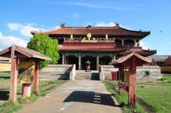 Monastério de Amarbayasgalant em Mongolia central Imagens de Stock