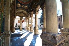 Monastério de Antim de Bucareste Romania fotografia de stock royalty free