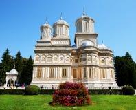 Monastério de Arges, Romania fotos de stock royalty free
