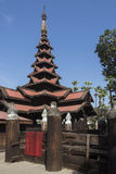 Monastério de Bagaya - Innwa - Myanmar foto de stock royalty free