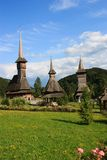 Monastério de Barsana Foto de Stock