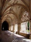 Monastério de Batalha, claustro Fotos de Stock Royalty Free