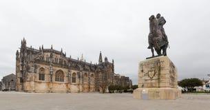 Monastério de Batalha, em Portugal imagem de stock royalty free